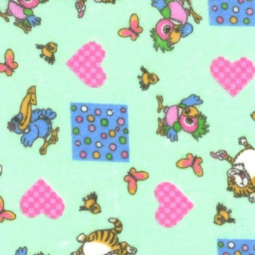 Набор детских пеленок фланель 4 шт 90/120 см 158-2П фото 1