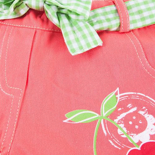 Шорты детские Вишня цвет персик рост 86 фото 3