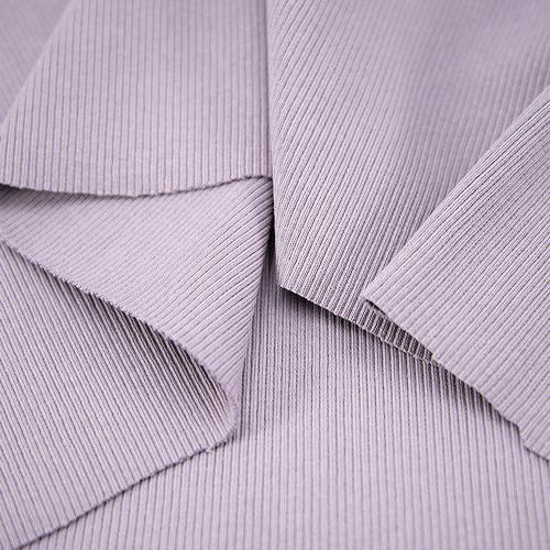 Ткань на отрез кашкорсе 3-х нитка с лайкрой цвет лила фото 3