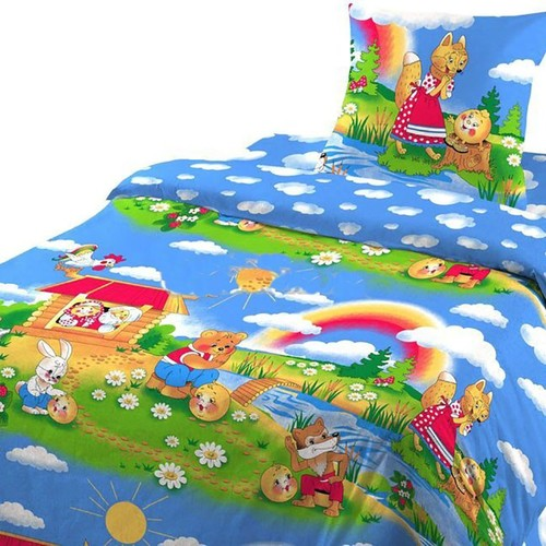 Детское постельное белье из бязи Шуя 1.5 сп 91391 ГОСТ фото 4
