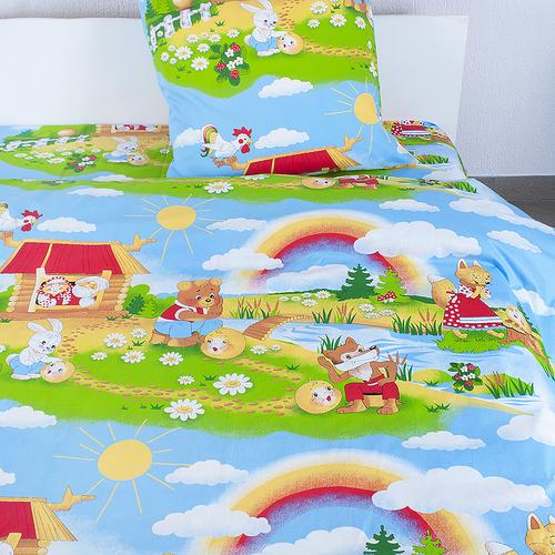 Детское постельное белье из бязи Шуя 1.5 сп 91391 ГОСТ фото 1