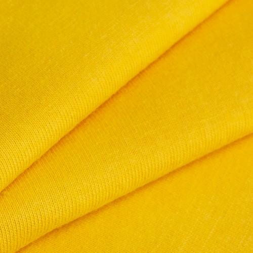 Маломеры кулирка гладкокрашеная 2029 цвет желтый 0.4 м фото 1