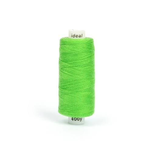Нитки бытовые IDEAL 40/2 366м 100% п/э, цв.429 зеленый фото 1