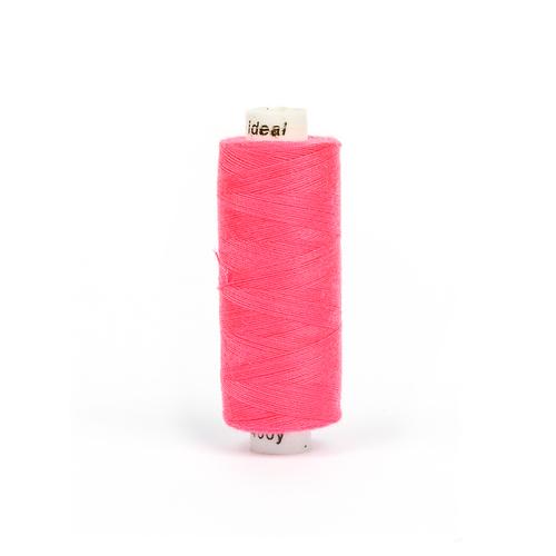Нитки бытовые IDEAL 40/2 366м 100% п/э, цв.571 розовый фото 1