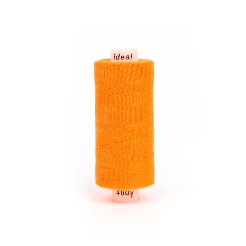 Нитки бытовые IDEAL 40/2 366м 100% п/э, цв.580 оранжевый фото 1