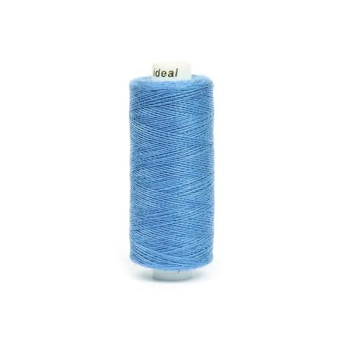 Нитки бытовые IDEAL 40/2 366м 100% п/э, цв.342 голубой фото 1
