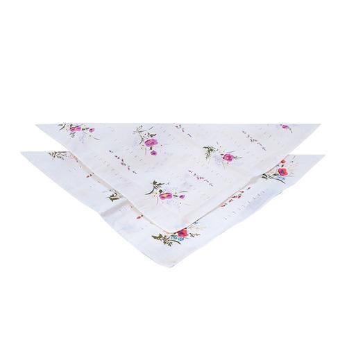 Платки носовые женские волнистые 45458Т10 шт фото 1