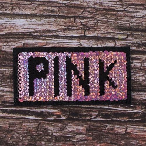 Аппликация PINK 10,5*5,5 см фото 1