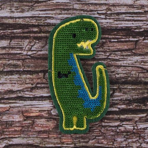 Аппликация Динозавр 4,5*8,5 см фото 1
