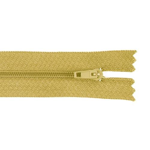 Молния пласт юбочная №3 20 см цвет орех фото 1