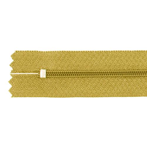 Молния пласт юбочная №3 20 см цвет орех фото 2