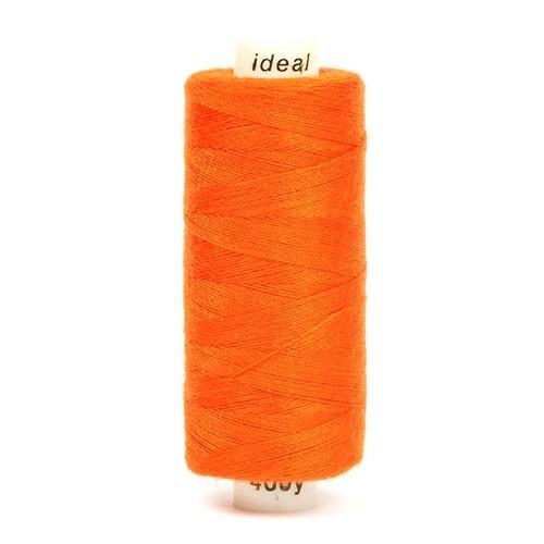 Нитки бытовые Ideal 40/2 100% п/э 382 рыжий фото 1
