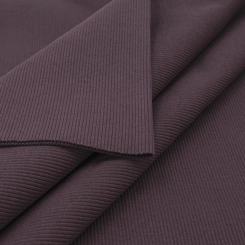 Ткань на отрез кашкорсе 3-х нитка с лайкрой цвет темно-лиловый фото 5
