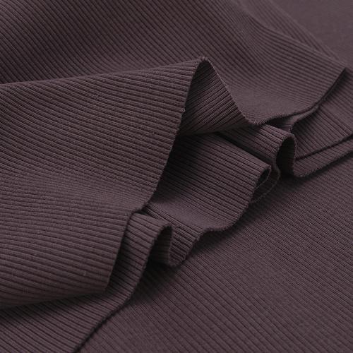 Ткань на отрез кашкорсе 3-х нитка с лайкрой цвет темно-лиловый фото 3