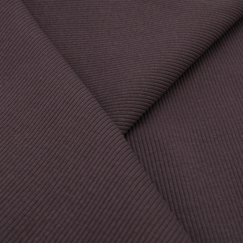 Ткань на отрез кашкорсе 3-х нитка с лайкрой цвет темно-лиловый фото 4