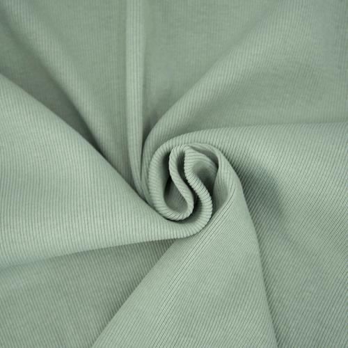 Ткань на отрез кашкорсе 3-х нитка с лайкрой цвет светло-зеленый фото 2