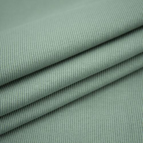 Ткань на отрез кашкорсе 3-х нитка с лайкрой цвет светло-зеленый фото 1