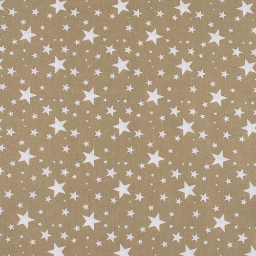 Поплин 150 см 433/28 Звездочка цвет золото фото 1