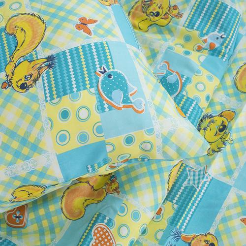 Детское постельное белье из бязи 1.5 сп 1427 Белки фото 2