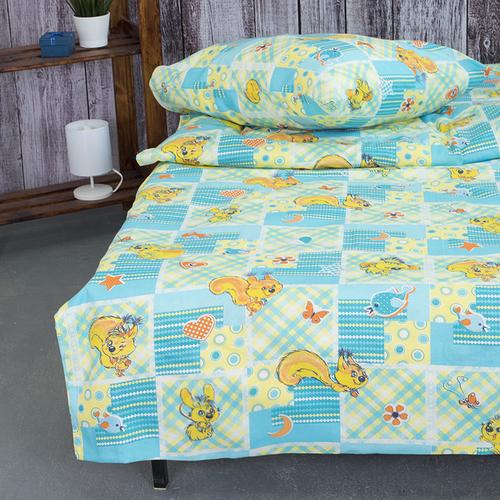 Детское постельное белье из бязи 1.5 сп 1427 Белки фото 3