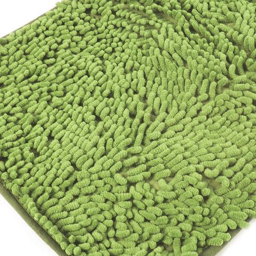 Коврик для ванной Makaron 40/60 цвет молодая зелень фото 1