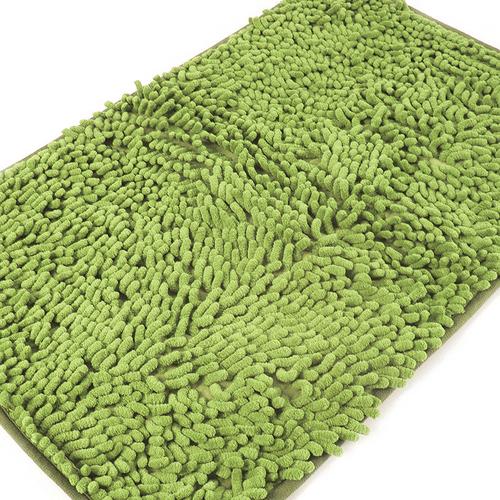 Коврик для ванной Makaron 40/60 цвет молодая зелень фото 3