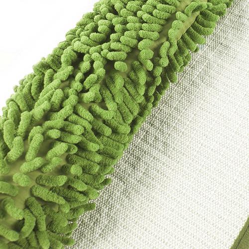 Коврик для ванной Makaron 40/60 цвет молодая зелень фото 2