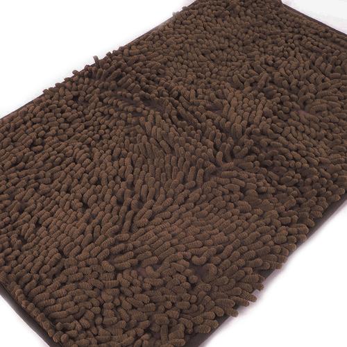Коврик для ванной Makaron 40/60 цвет коричневый фото 3