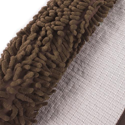 Коврик для ванной Makaron 40/60 цвет коричневый фото 2