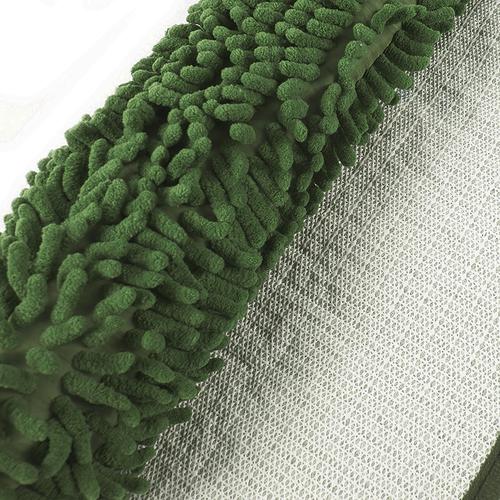 Коврик для ванной Makaron 40/60 цвет темно-зеленый фото 2