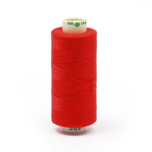 Нитки бытовые Dor Tak 40/2 366м 100% п/э, цв.509 красный фото 1