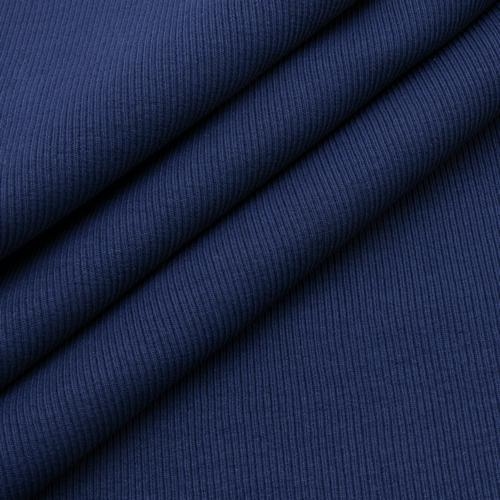 Ткань на отрез кашкорсе 3-х нитка с лайкрой цвет темный индиго фото 4
