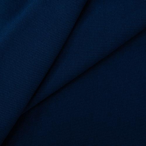 Ткань на отрез кашкорсе 3-х нитка с лайкрой цвет темный индиго фото 1