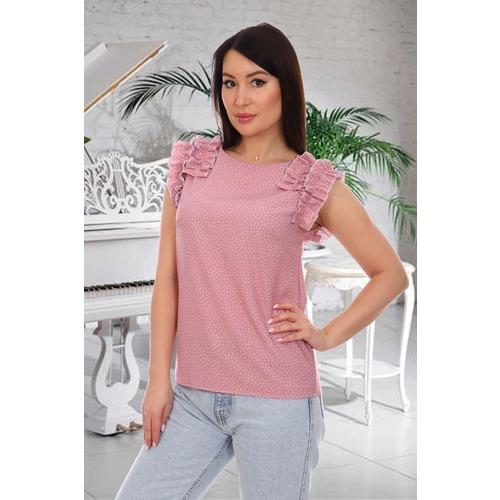 Блузка 13606 розовая р 42 фото 1