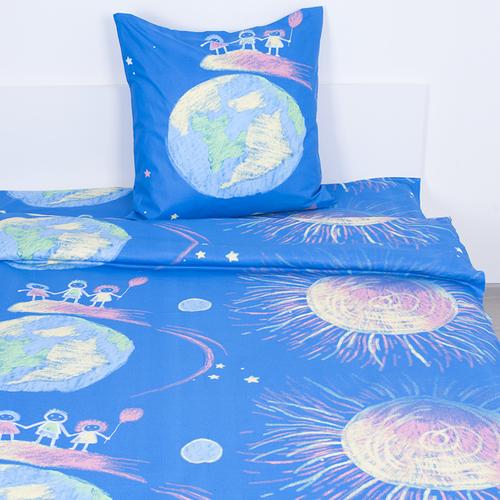Детское постельное белье из бязи Шуя 1.5 сп 81891 ГОСТ фото 1