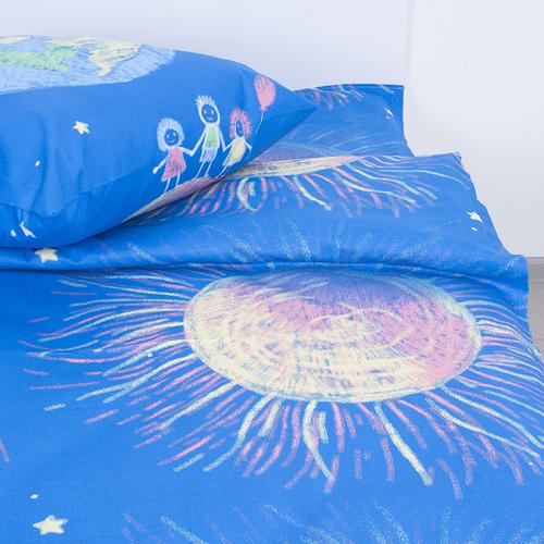 Детское постельное белье из бязи Шуя 1.5 сп 81891 ГОСТ фото 2