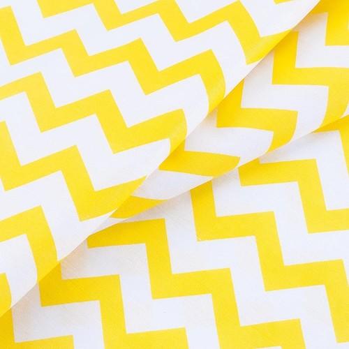 Маломеры бязь плательная 150 см 1692 цвет желтый 0.9 м фото 3