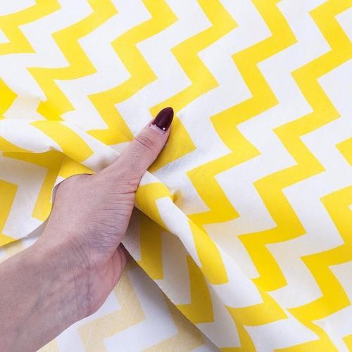 Маломеры бязь плательная 150 см 1692 цвет желтый 0.9 м фото 4