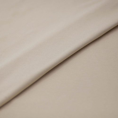 Ткань на отрез кулирка М-2020 цвет бежевый фото 2
