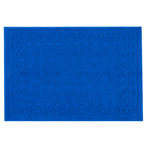 Полотенце-коврик махровое Pecorella ПЦ-103-03083 50/70 см цвет 354 василек фото 1