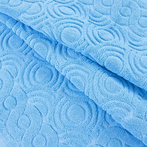 Полотенце-коврик махровое Pecorella ПЦ-103-03083 50/70 см цвет 135 голубой фото 2