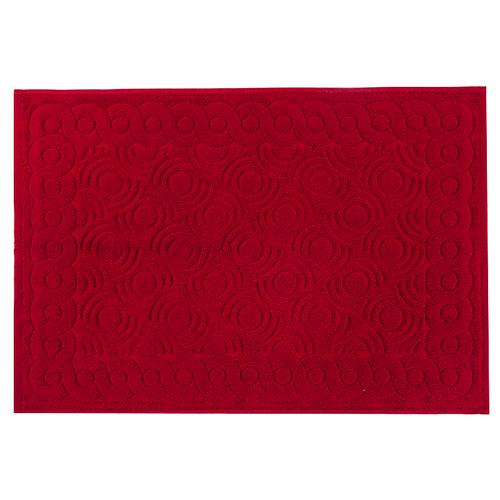 Полотенце-коврик махровое Pecorella ПЦ-103-03083 50/70 см цвет 373 красный фото 1