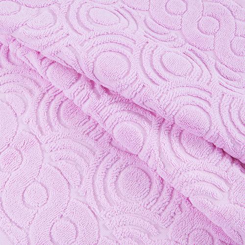 Полотенце-коврик махровое Pecorella ПЦ-103-03083 50/70 см цвет 128 розовый фото 2