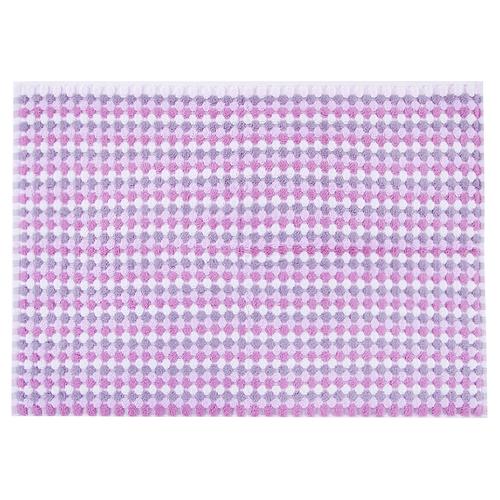 Полотенце-коврик махровое Musivo ПЦ-516-02484 50/70 см цвет 40000 бело-розовый фото 1