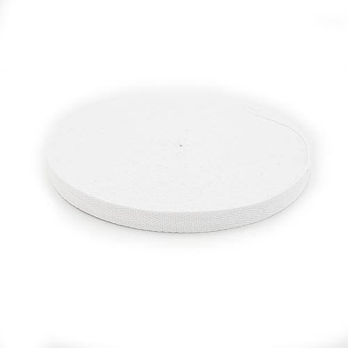 Лента киперная цвет белый 1,5см 1 метр фото 1