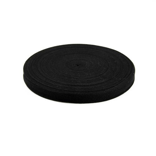Лента киперная цвет черный 1,5см 1 метр фото 1
