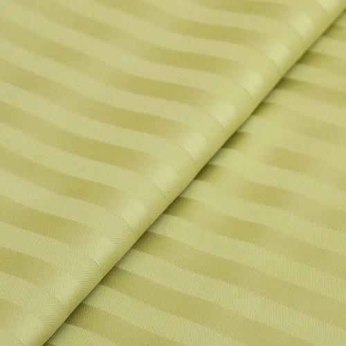 Маломеры страйп сатин полоса 1х1 см 220 см 135 гр/м2 цвет 312 фисташковый 1.58 м фото 2