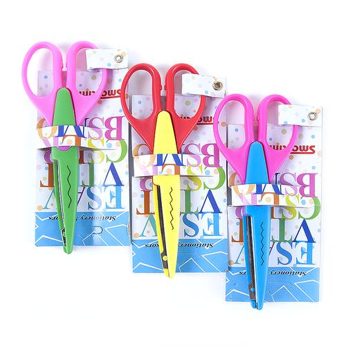 Ножницы для рукоделия фигурные расцветки в ассортименте фото 1