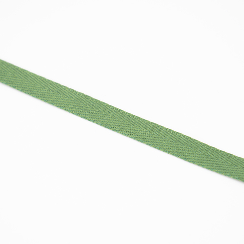 Тесьма киперная 10 мм хлопок 1,8г/см арт.08с-3495 цв.зеленый 009 фото 2