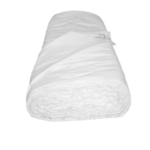 Ткань на отрез фланель 90 см цвет белый фото 2